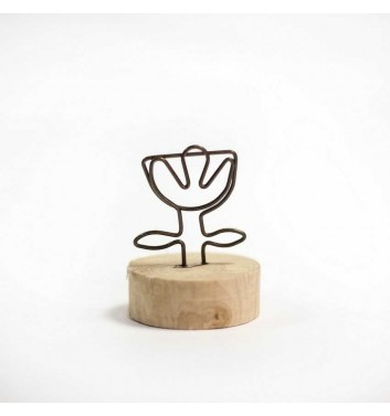 "Photo Holder ""Flower"""