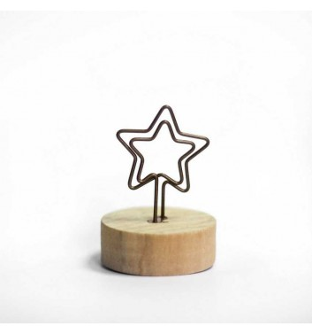 "Photo Holder ""Star"""