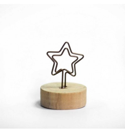 """Тримач для фото """"Star"""""""