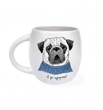 Чашка «Мопс»