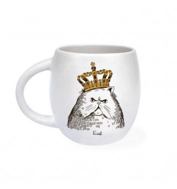 Cup Orner Store Cat in crown