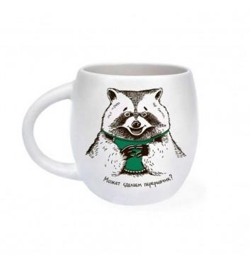 Чашка Orner Store Єнот