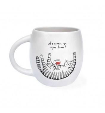 Чашка «Кіт вихідного дня»