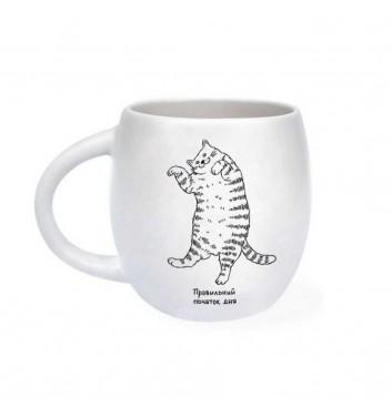 Чашка «Лінивий кіт»