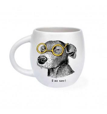 Чашка «Собака підозрювака»