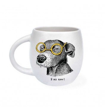 Cup «Dog suspected»