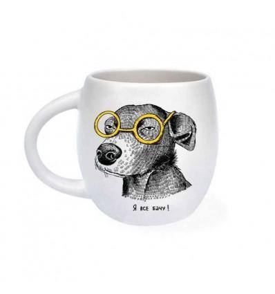 Кружка «Собака подозревака»