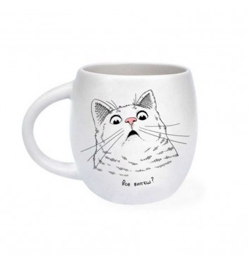 Cup «Surprised cat»