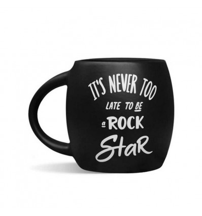 Чашка чорна «Rock star»