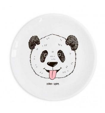 Plate Orner Store Panda Yum-Yum
