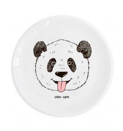 """Plate """"Panda Yum-Yum» Orner Store SHOS"""