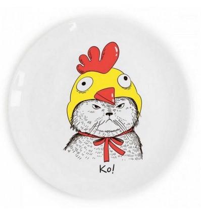 "Plate ""KO!"" Orner Store Shos"