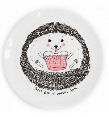 "Plate ""Hedgehog» Orner Store Shos"