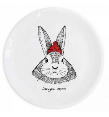 "Plate ""Hare"" Orner Store Shos"
