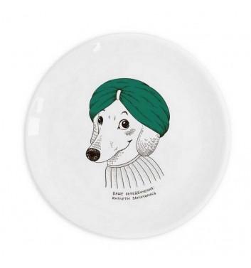 """Plate """"Dachshund"""""""