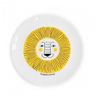 "Children plate ""Lion"" Orner Store Shos"