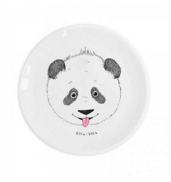 "Детская тарелка ""Панда кусь-кусь"" Orner Store Шось"