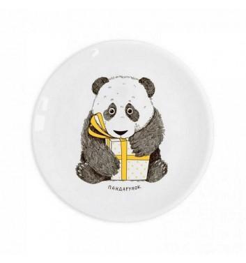 """Children plate """"Panda Gift"""" Orner Store Shos"""