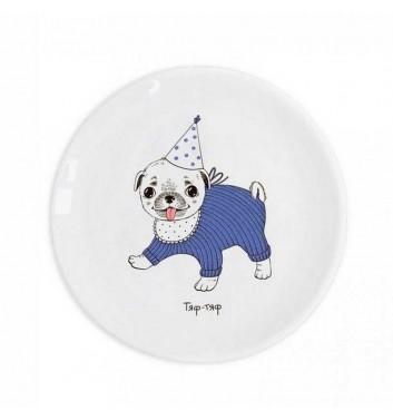 """Children plate """"Pug"""" Orner Store Shos"""