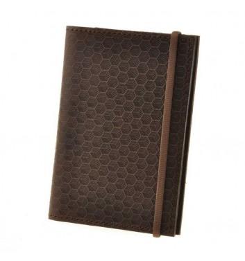Обложка для паспорта 2.0 Орех Карбон