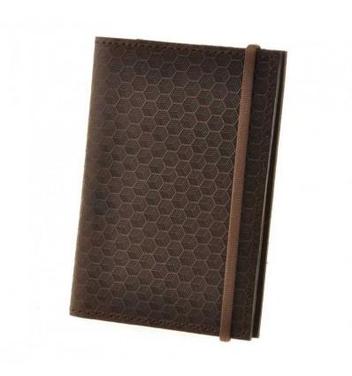 Обкладинка для паспорта 2.0 Горіх Карбон