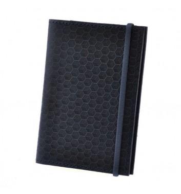 Обкладинка для паспорта 2.0 Нічне небо Карбон