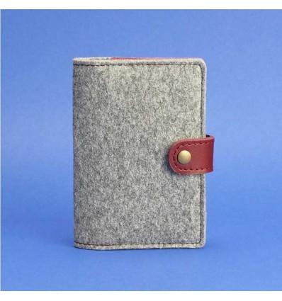 Обкладинка для паспорта 3.0 Фетр Виноград