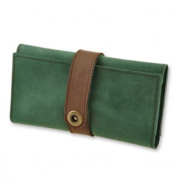 Wallet 3.0 Emerald-Walnut
