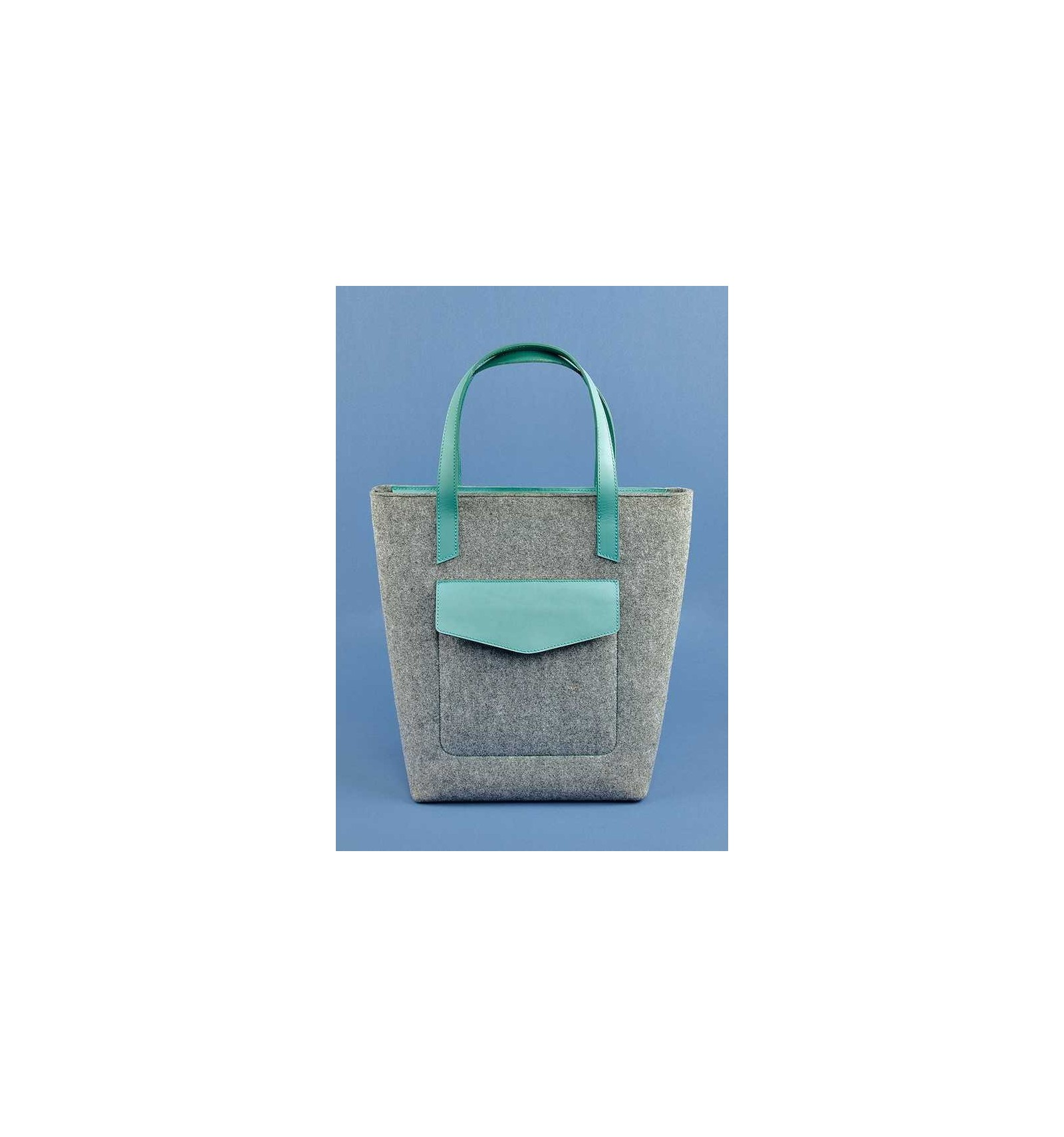 ba32ebaef9 Shopper Bag Blanknote D.D. Felt Tiffany