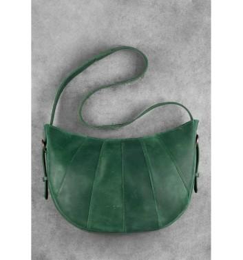 "Bag ""Croissant"" Emerald"