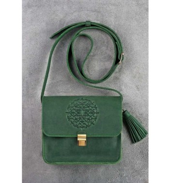 "Boho bag ""Lilu"" Emerald"