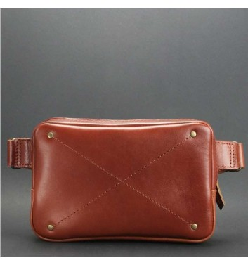 "Waist Bag ""DropBag"" Cognac"