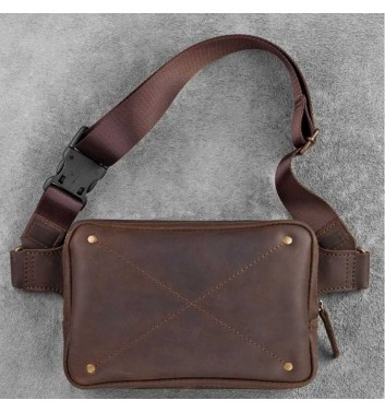 "Waist Bag ""DropBag"" Walnut"