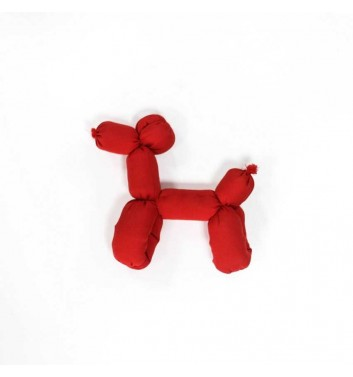 "Soft Toy ""Dog"" Red"