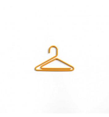 """Paperclip """"Hanger"""" Orange"""