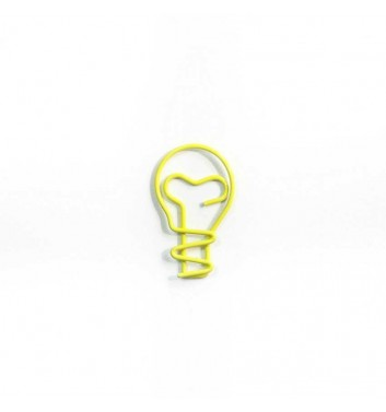 Скрепка Cuters Bulb Yellow