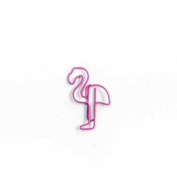 "Paperclip ""Flamingo"" Pink"