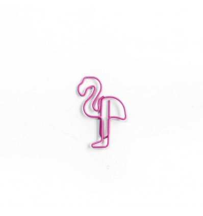 """Скріпка """"Flamingo"""" Pink"""