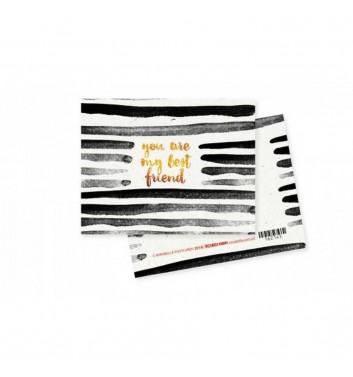 """Мини-открытка """"Best friend"""""""