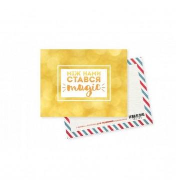 """Мини-открытка """"Magic"""""""