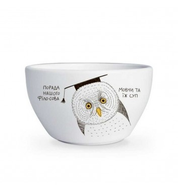 "Bowl ""Owl"""