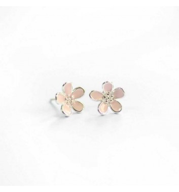 """Сережки """"Pink flowers"""""""