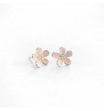 """Серьги """"Pink flowers"""""""