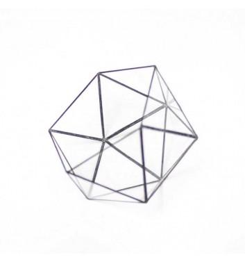 """Florarium """"Icosahedron"""""""