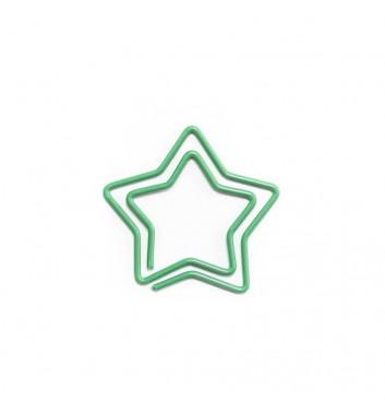 """Скріпка """"Star"""" Green"""