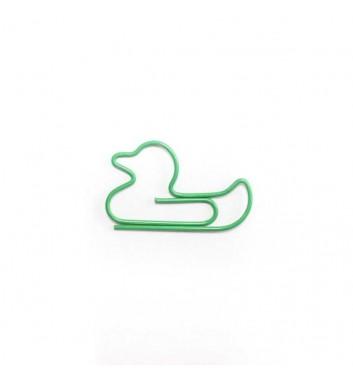 """Скріпка """"Duck"""" Green"""