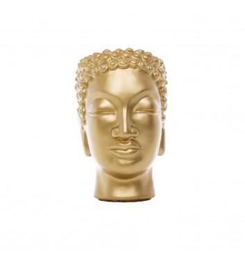 "Вазон-органайзер Vase-Head ""Будда"" Gold"