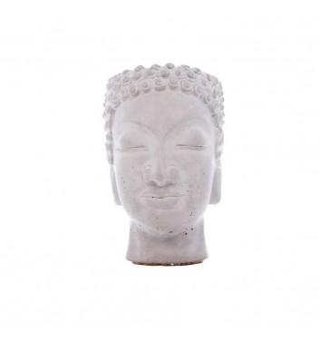 "Вазон-органайзер Vase-Head ""Будда"" Gray"