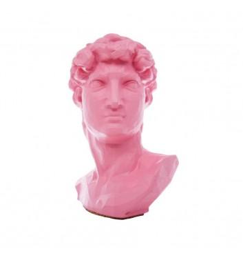 "Вазон-органайзер Vase-Head ""Давид"" Pink"