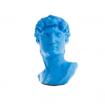 """Вазон-органайзер Vase-Head """"Давид"""" Blue"""